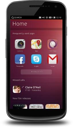 Ubuntu Phone можно будет купить в октябре 2013 года