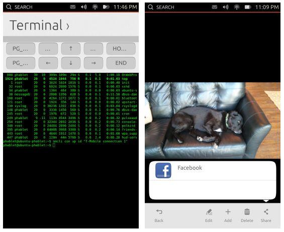 Ubuntu Phone уже поддерживает интернет подключение, социальные приложения, звонки и многое другое