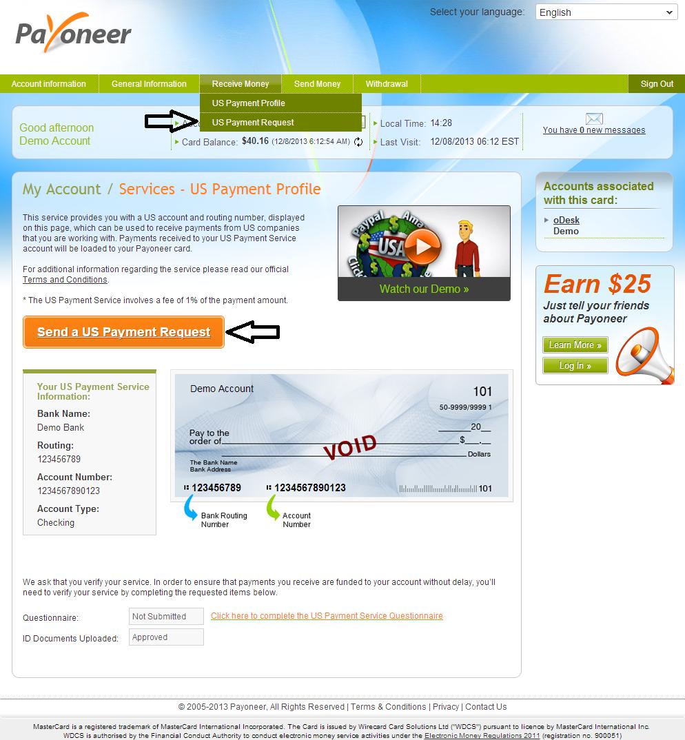 Us Payment Service от Payoneer: важные обновления