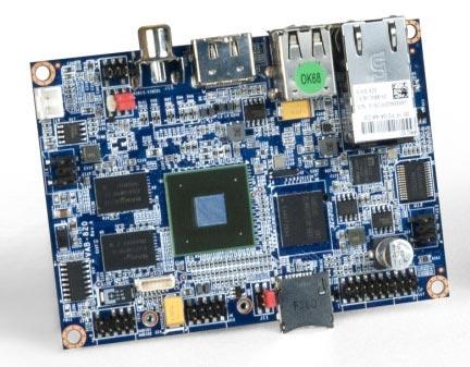 Основой VIA VAB-820 служит однокристальная система Freescale i.MX6