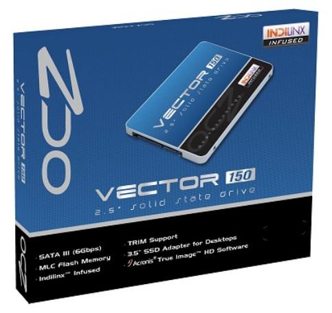В твердотельных накопителях OCZ Vector 150 используется 19-нанометровая флэш-память и контроллеры Barefoot 3