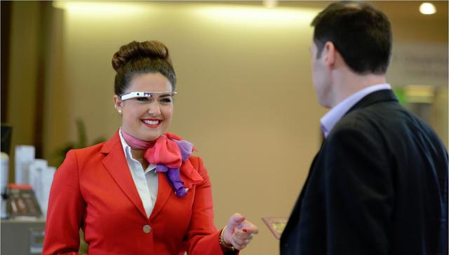 Virgin Atlantic использует Google Glass и «умные» часы для работы с пассажирами