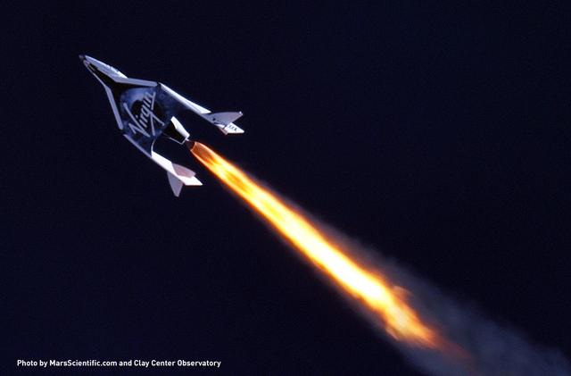 Virgin Galactic надеется использовать свои космические корабли для межконтинентальных перелетов
