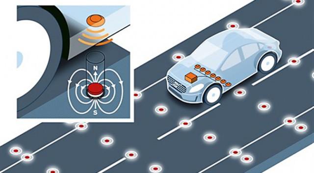 Volvo предлагает модифицировать дорожное полотно для беспилотных автомобилей