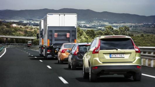 Volvo провела испытания робомобиля на обычной дороге