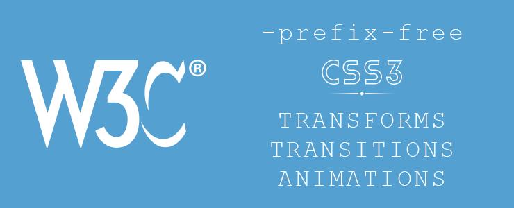 W3C дает благословение на CSS анимации без префиксов