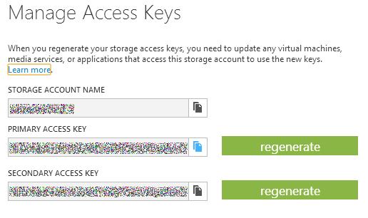 Windows Azure Blob storage: поддержка CORS