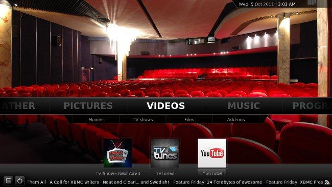 XBMC: домашний кинотеатр под Android
