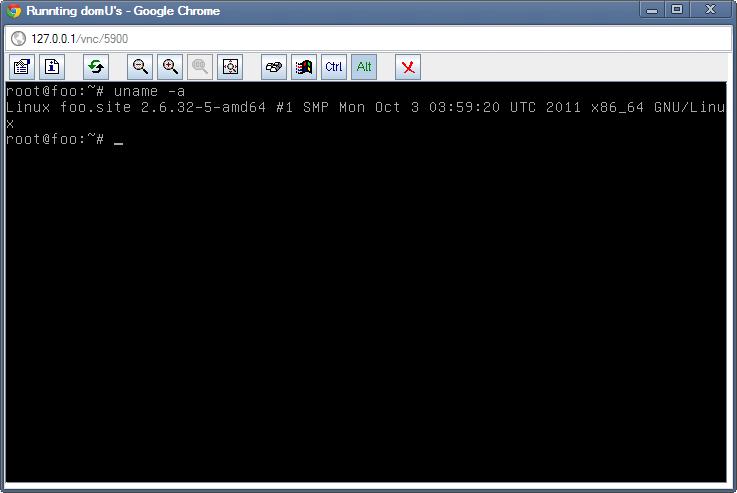 XEN: Простой скрипт для быстрого открытия vnc консолей