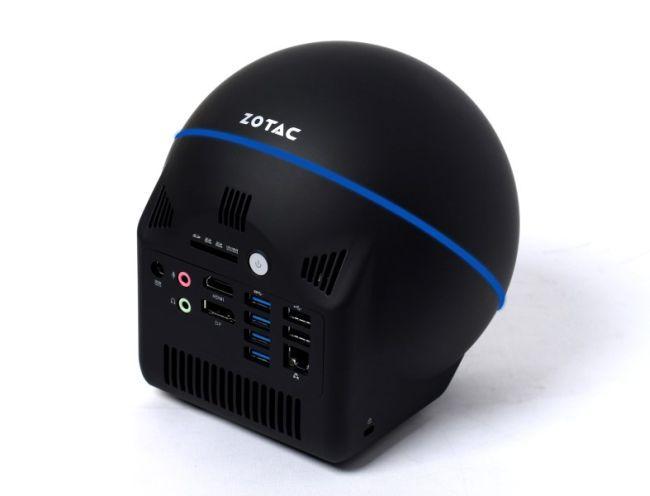 Zotac: шарообразный мини десктоп с Core i5 Haswell