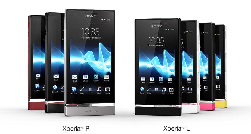 Блог компании Sony Ericsson / Премьеры MWC: Sony Xperia U и Sony Xperia P