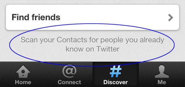 Twitter / Twitter признался в использовании адресных книг пользователей