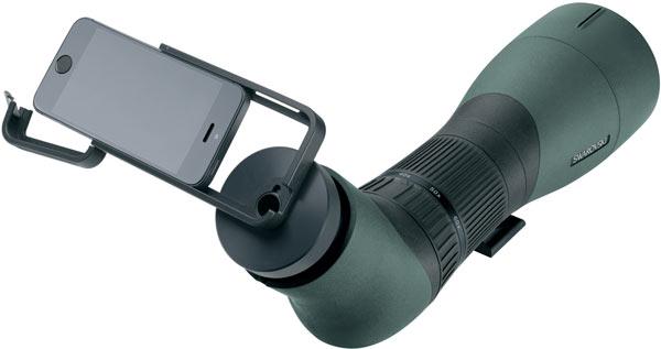 Swarovski Optik анонсирует адаптер PA-i5 для использования биноклей и подзорных труб совместно со смартфонами Apple iPhone 5 и 5s