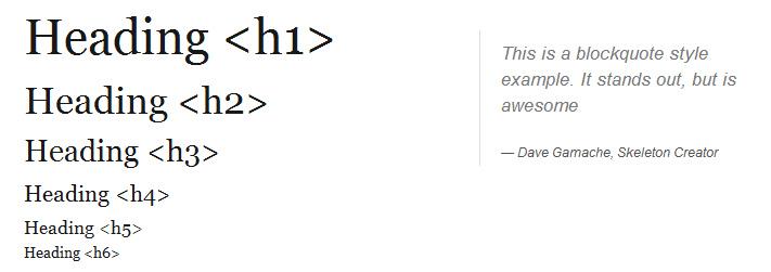 Адаптивная верстка: CSS&JS фреймворк Skeleton