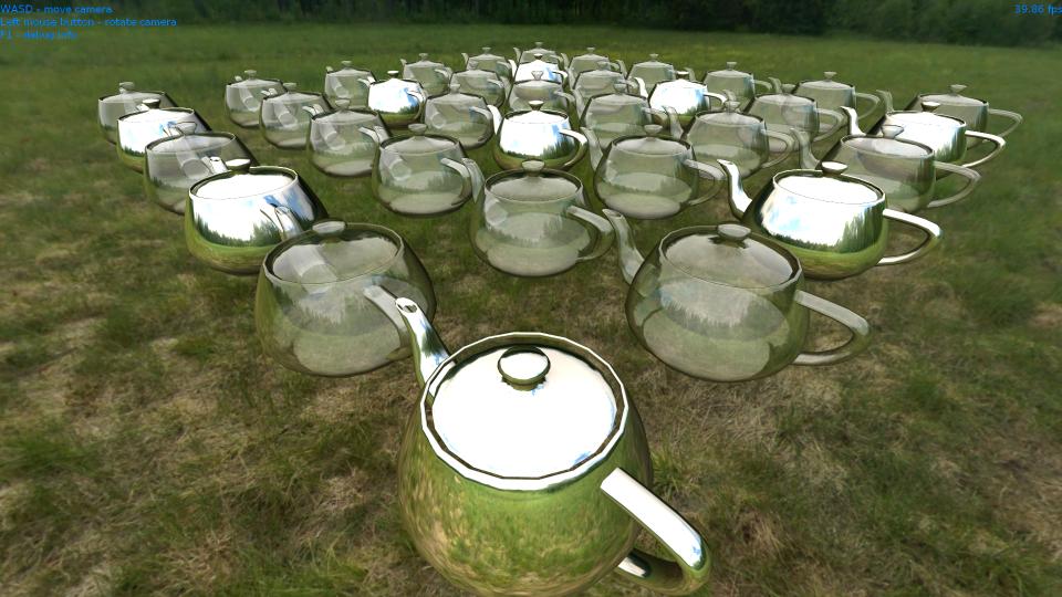 Алгоритм Order Independent Transparency c использованием связных списков на Direct3D 11 и OpenGL 4