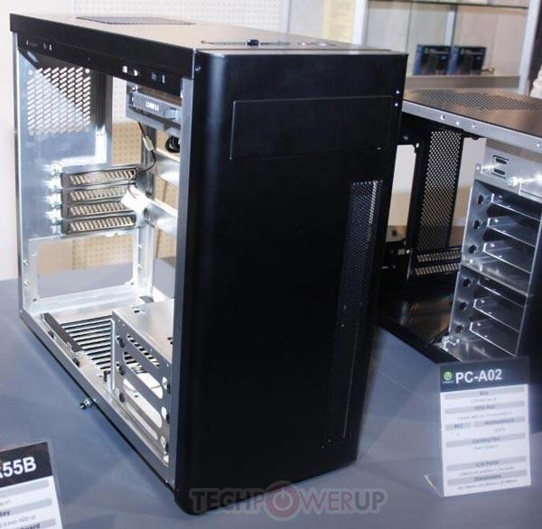 Габариты корпуса Lian Li PC-A02 равны 188 x 460 x 386 мм