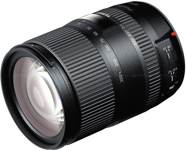 Дату начала продаж и цену объектива Tamron 16-300mm F/3.5-6.3 Di II VC PZD Macro производитель пока не называет