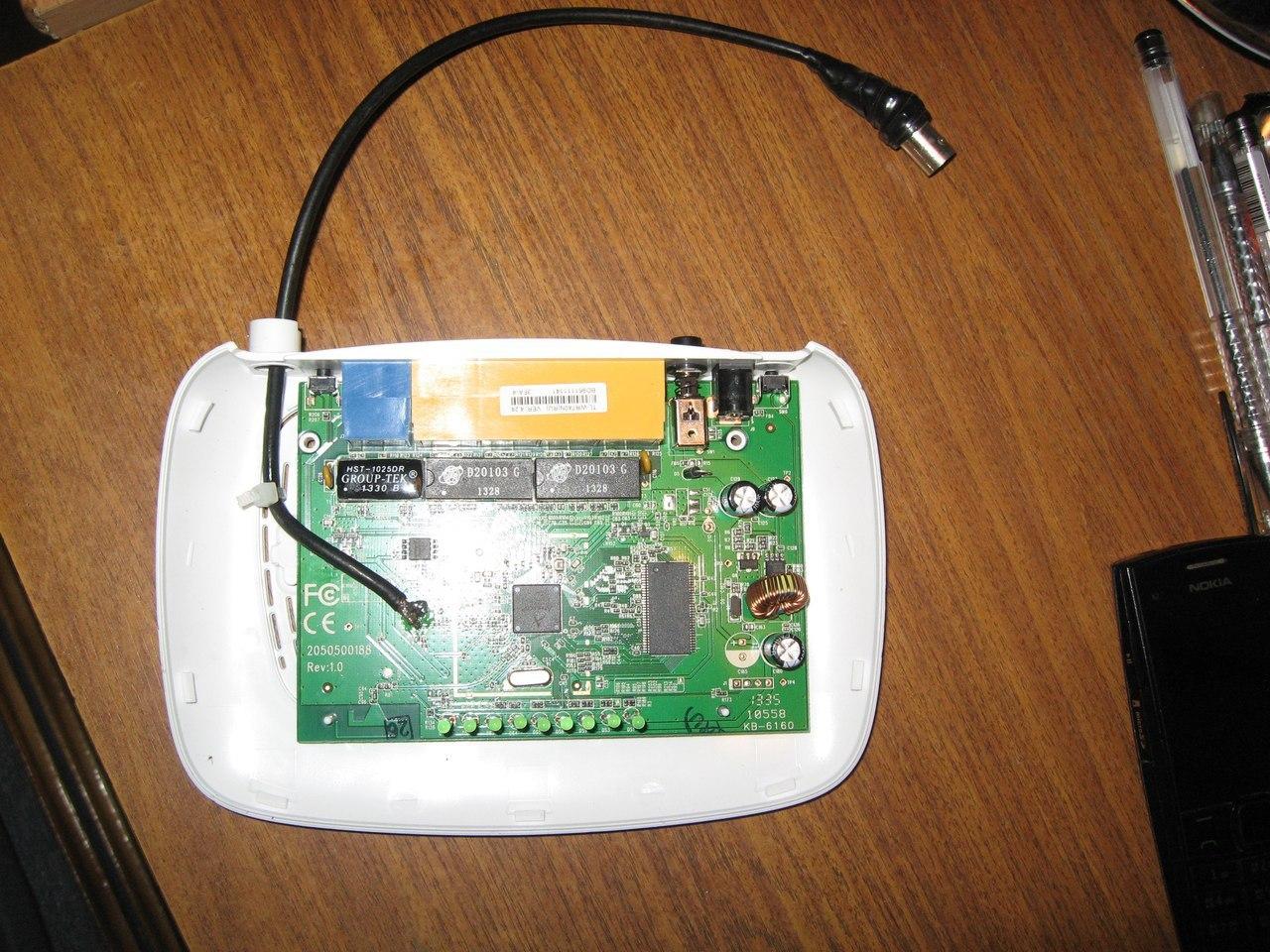 Антенна для Wi Fi на коленке за 10 минут