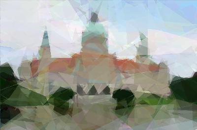 Аппроксимация изображений генетическим алгоритмом при помощи EvoJ