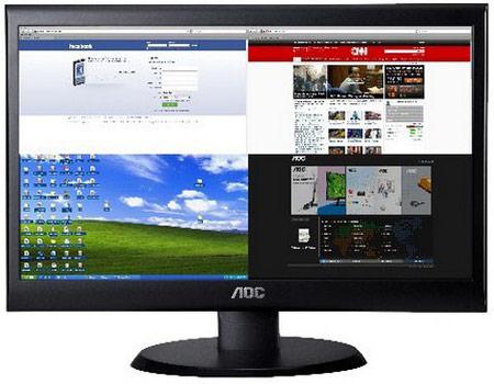 Размер экрана AOC e2250Swdn равен 21,5 дюйма, e2450Swd — 24 дюйма