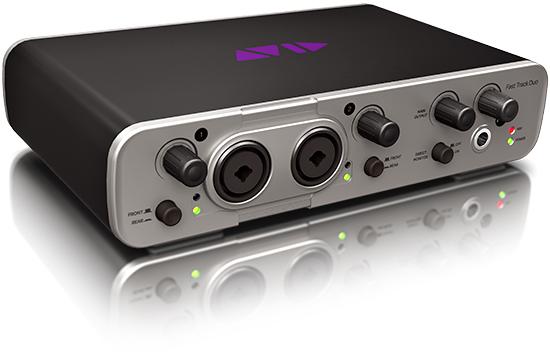 Ассортимент Avid пополнили звуковые интерфейсы Fast Track Solo и Duo