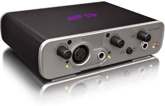 Звуковые интерфейсы Avid Fast Track Solo и Duo можно подключать непосредственно к планшетам Apple iPad