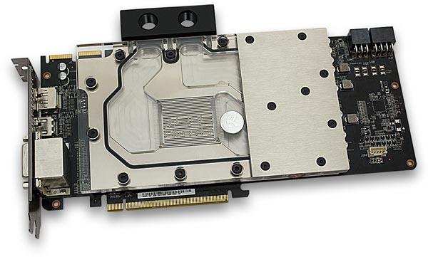 В одной системе можно использовать до четырех водоблоков EK-FC R9-280X DCII