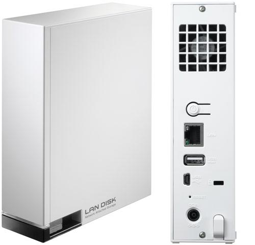 Ассортимент I-O Data пополнили сетевые накопители серии HDL-CE объемом до 3 ТБ