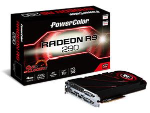 Видеокарта PowerColor R9 290 OC оснащена видеовыходами DL DVI-D (две штуки), HDMI и DP