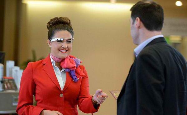 Virgin Atlantic тестирует Google Glass
