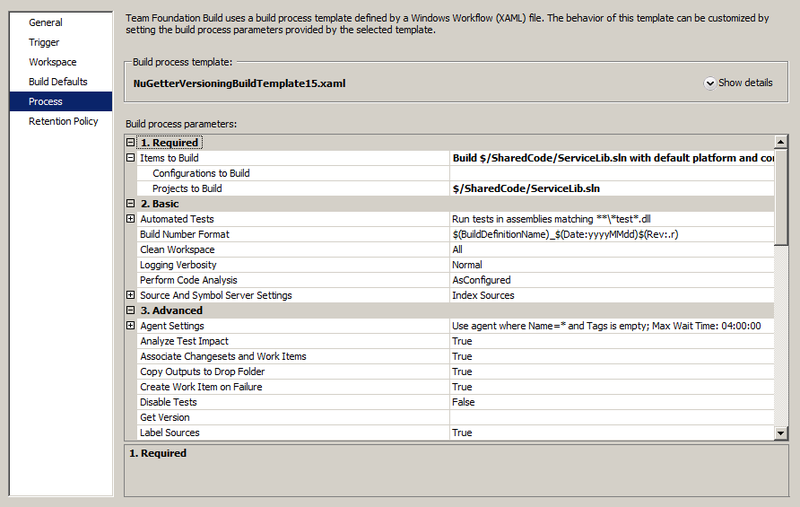 Автоматическая публикация новой версии библиотеки с использованием TFS 2010 и NuGetter
