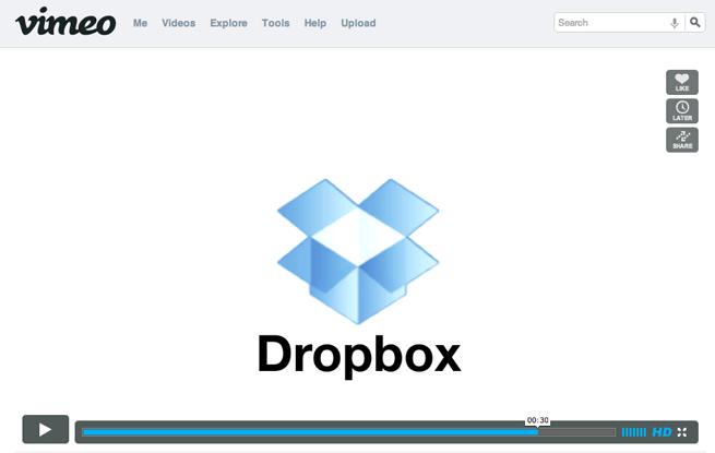 Автоматическая загрузка видео на Vimeo через Dropbox