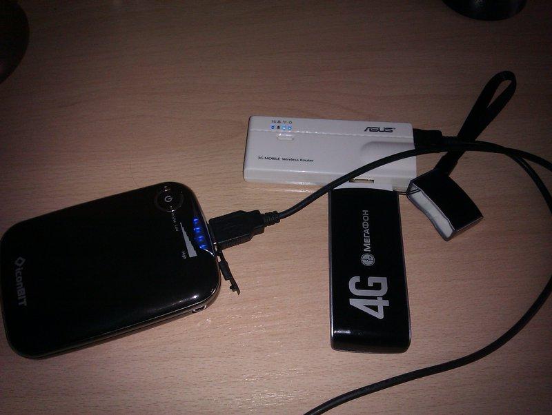 Автономный роутер для 4G Мегафона