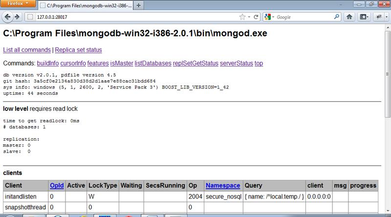 Азбука NoSQL инъекций