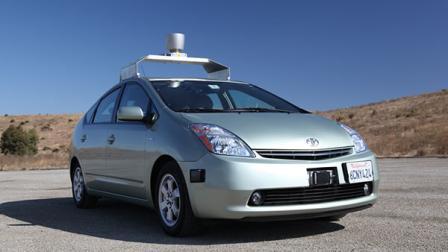 Google / Google опробует робо мобили на дорогах Невады