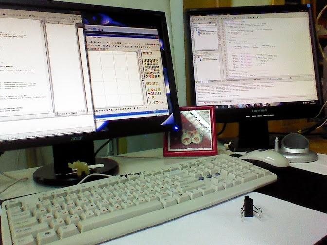 Балансировочный стенд своими руками на отладочной плате SiLabs C8051F120 TB