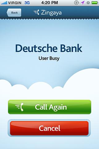 Бесплатное мобильное приложение Zingaya для iOS