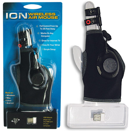 Цена Ion 3D Wireless Air Mouse Glove — $79,95