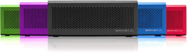 Беспроводная акустическая система Braven 570 оснащена интерфейсом Bluetooth