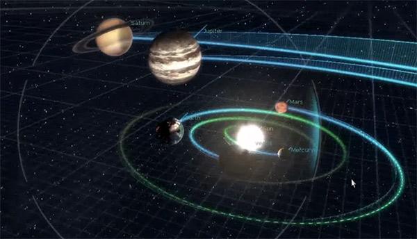 Безработный геймдизайнер сделал модель Солнечной системы на движке Unreal