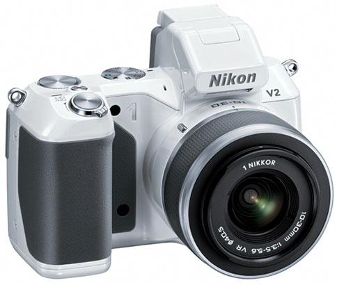Беззеркальная камера Nikon 1 V2 представлена официально