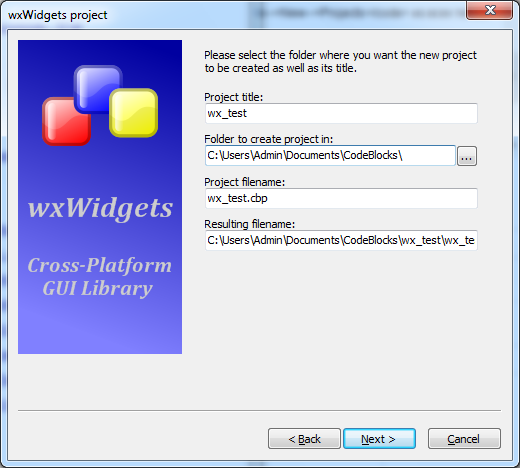 Библиотека инструментов wxWidgets. Сборка и пример использования
