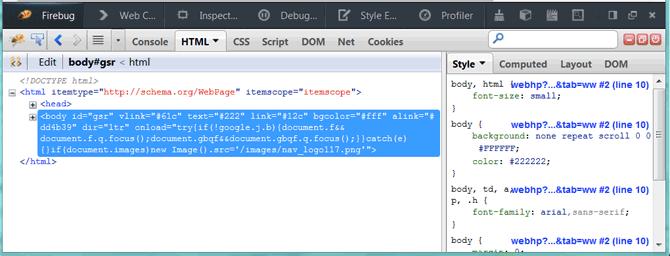 Будущие улучшения средств веб разработки в Firefox