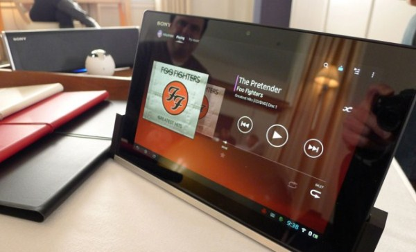 Sony Tablet Qualcomm Snapdragon 800