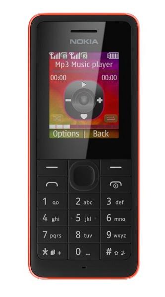 Бюджетные телефоны Nokia 106 и Nokia 107 Dual SIM