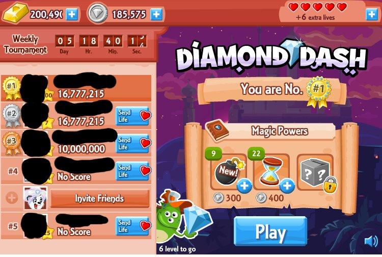 Информационная безопасность / Diamond Dash, или как не надо защищать свои online приложения