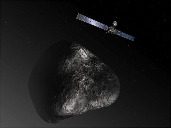 Часть научных инструментов межпланетной станции «Розетта» вошла в рабочий режим