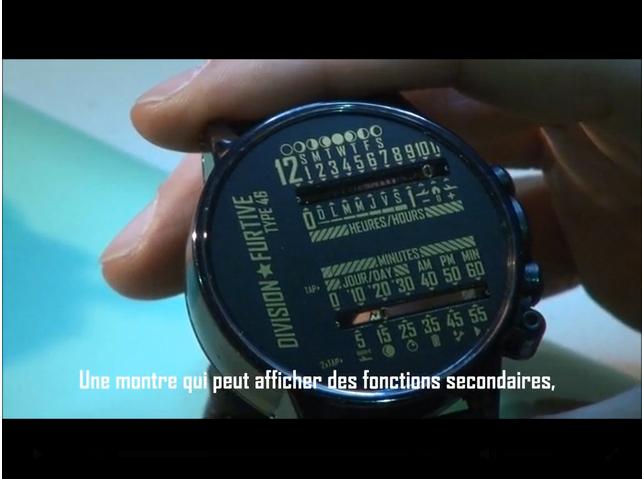 Часы с линейным отображением времени