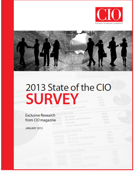 Чего ожидают директора по информационным технологиям (CIO) от 2013 года?