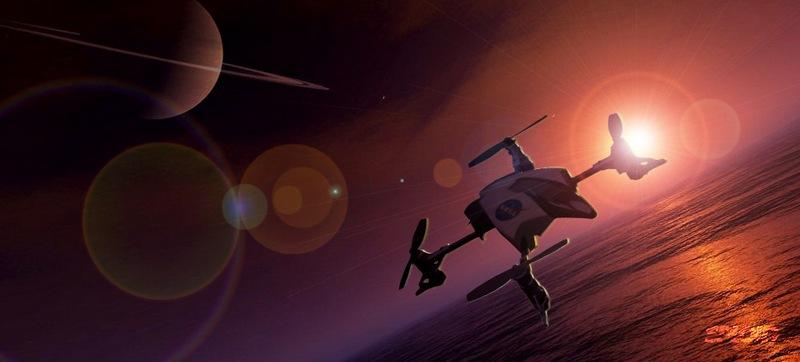 Чем пахнет на Титане?